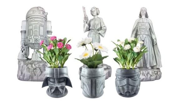 Star Wars: Vasos e estátuas dão força ao seu jardim
