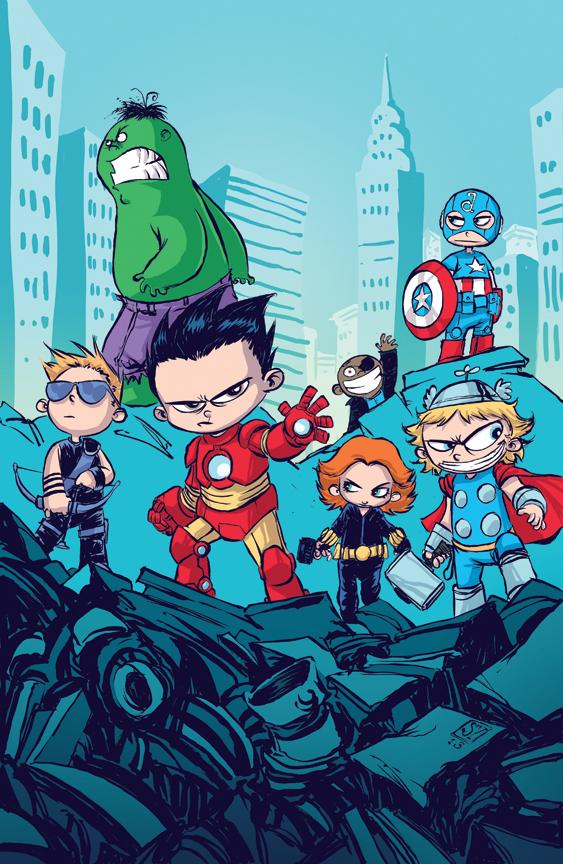 Marvel: Ilustrador cria versões fofas dos super-heróis