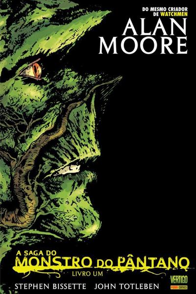 capa monstro do pântano alan moore