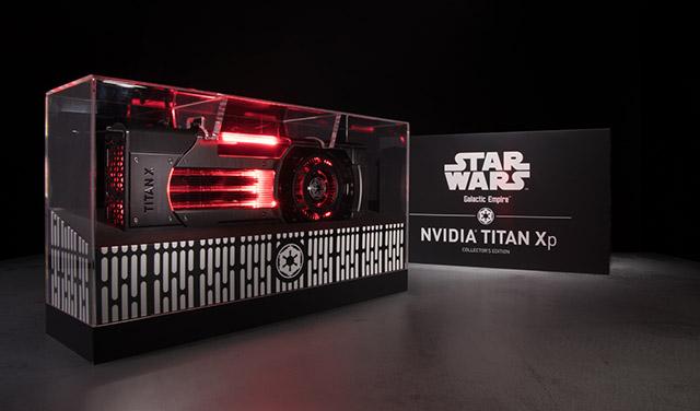 Star Wars: Nvidia Titan XP inspirada na saga!