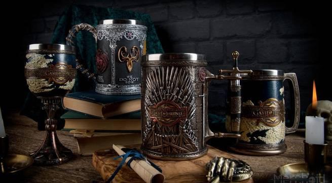 Game of Thrones: nova coleção de copos e taças dignos de reis!