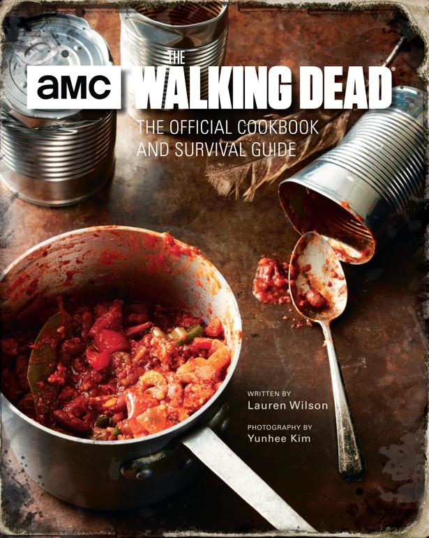 The Walking Dead: Livro de receitas com guia de sobrevivência Oficial