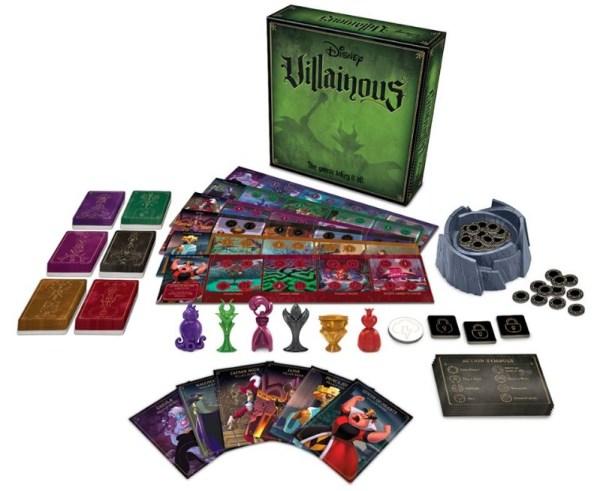 Villainous: jogo de tabuleiro permite jogar como vilões da Disney