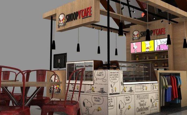 Café temático para os fãs de Snoopy é inaugurado no Brasil