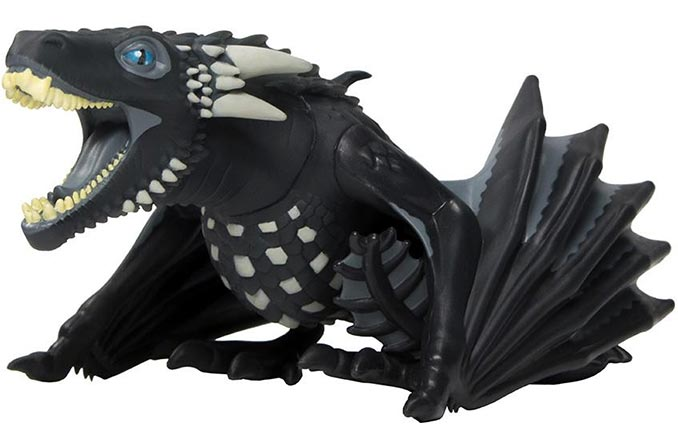 Game Of Thrones: Figura Viserion Exclusiva Comic Con