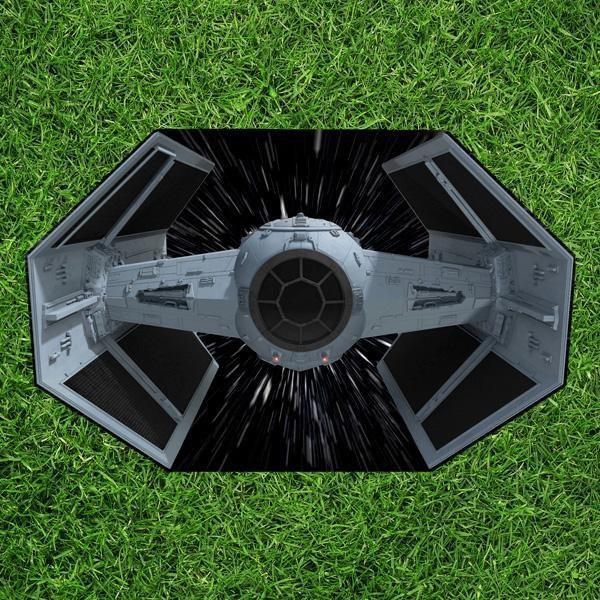 Star Wars: Toalha de piquenique com estampa da Tie Fighter