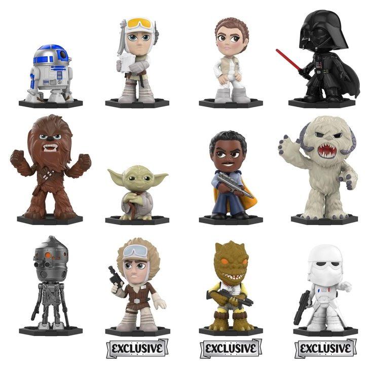 Funko Mystery Minis: Star Wars O Império Contra Ataca