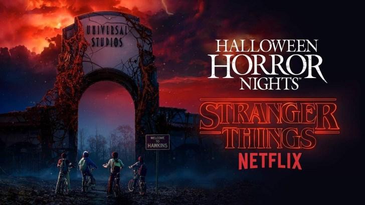 Saiu o primeiro teaser da atração de Stranger Things na Universal Studios