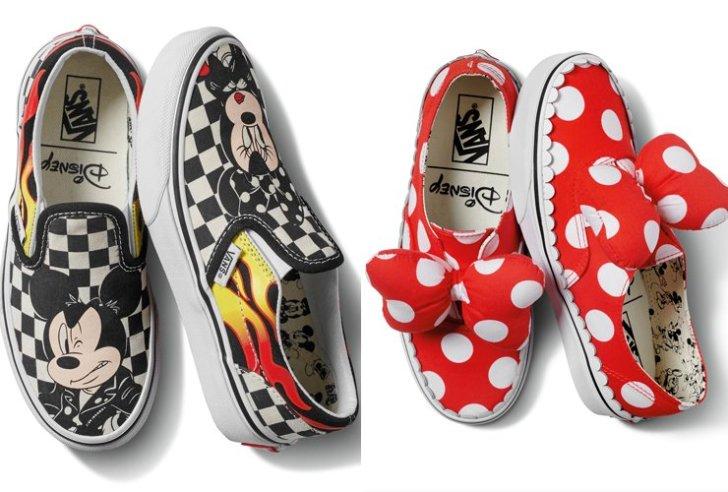 Vans lança produtos em comemoração aos 90 anos de Mickey Mouse
