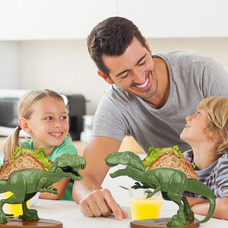 Dinossauros na cozinha: seus lanches ainda mais divertidos com Nachosaurus e Tacosaurus