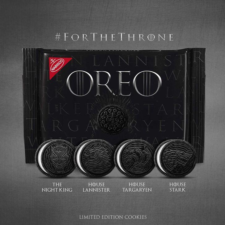 Game of Thrones: Oreo lança edição limitada da série