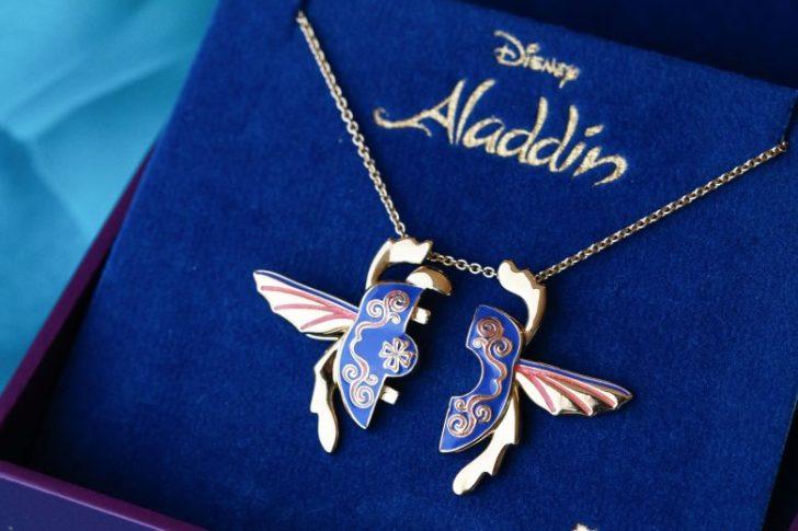 Colar inspirado no tapete mágico de Aladdin
