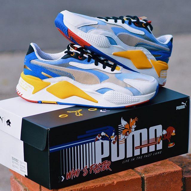 Puma anuncia coleção inspirada em Sonic