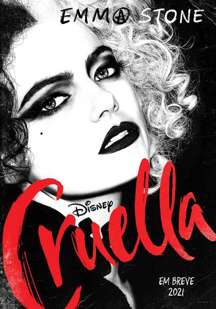 Disney lança pôster e trailer de Cruella, estrelado por Emma Stone
