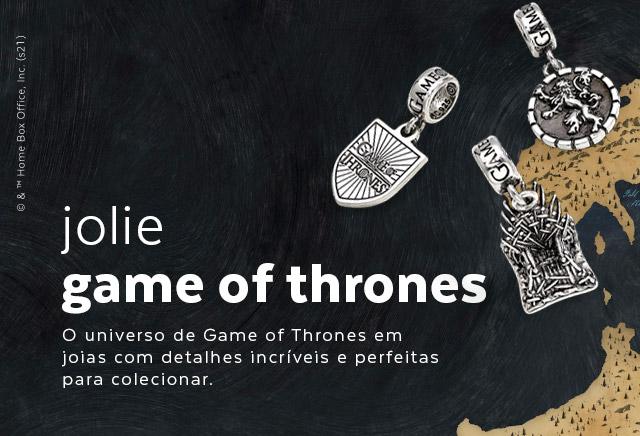 Jolie by Monte Carlo lança coleção Game of Thrones
