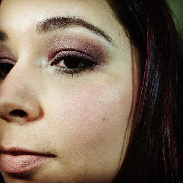 maquiagem burgundy