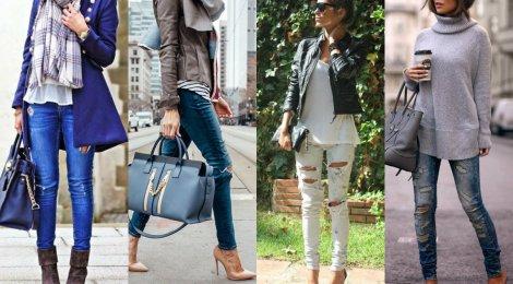 Inspirações para usar seu jeans rasgado!!