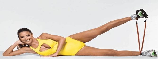 exercicio elastico casa