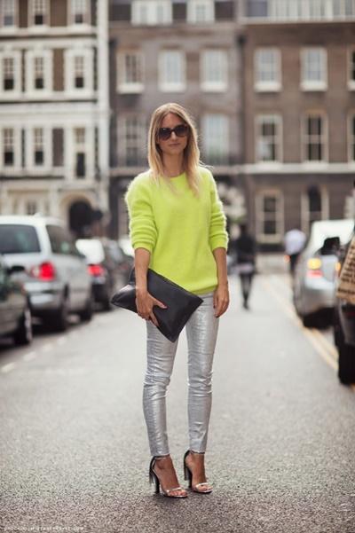 look-neon-prata-roupa-prata