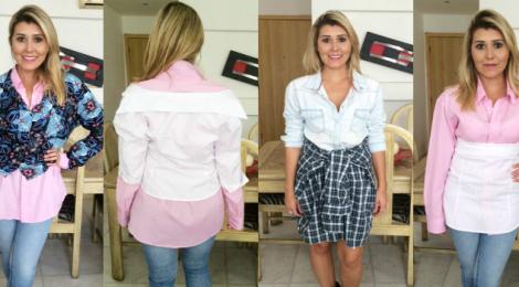 4 maneiras inovadoras de usar sua camisa