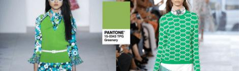 Greenery - A cor eleita pela Pantone para 2017
