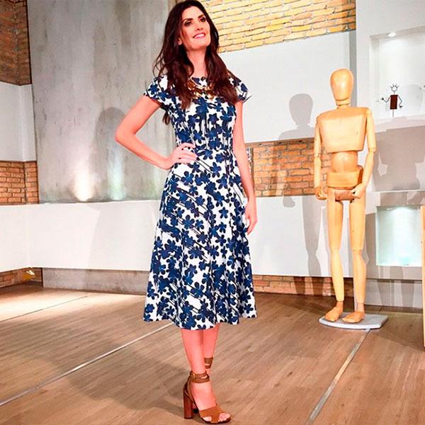 Isabella-fiorentino-estilo-vestido-estampado