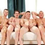 Swing Gay com sexo entre casais super dotados e gostosos