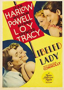 Libeled Lady poster
