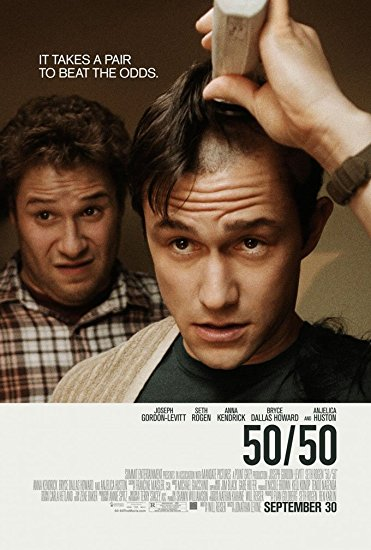 50-50 poster