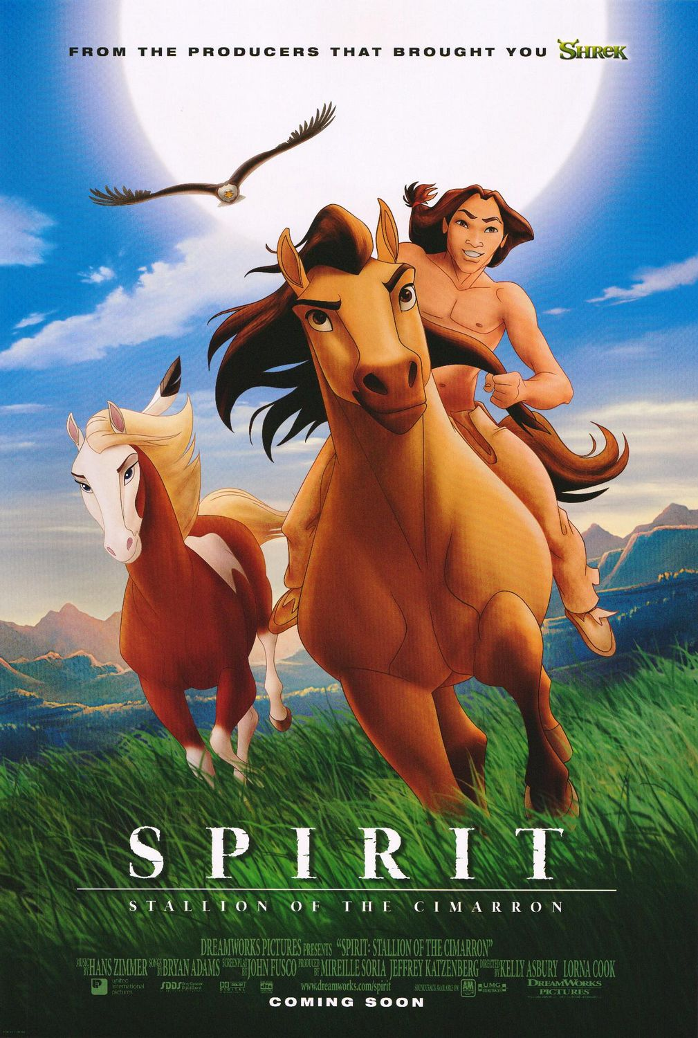 mustang Spirit Stallion of the Cimarron poster