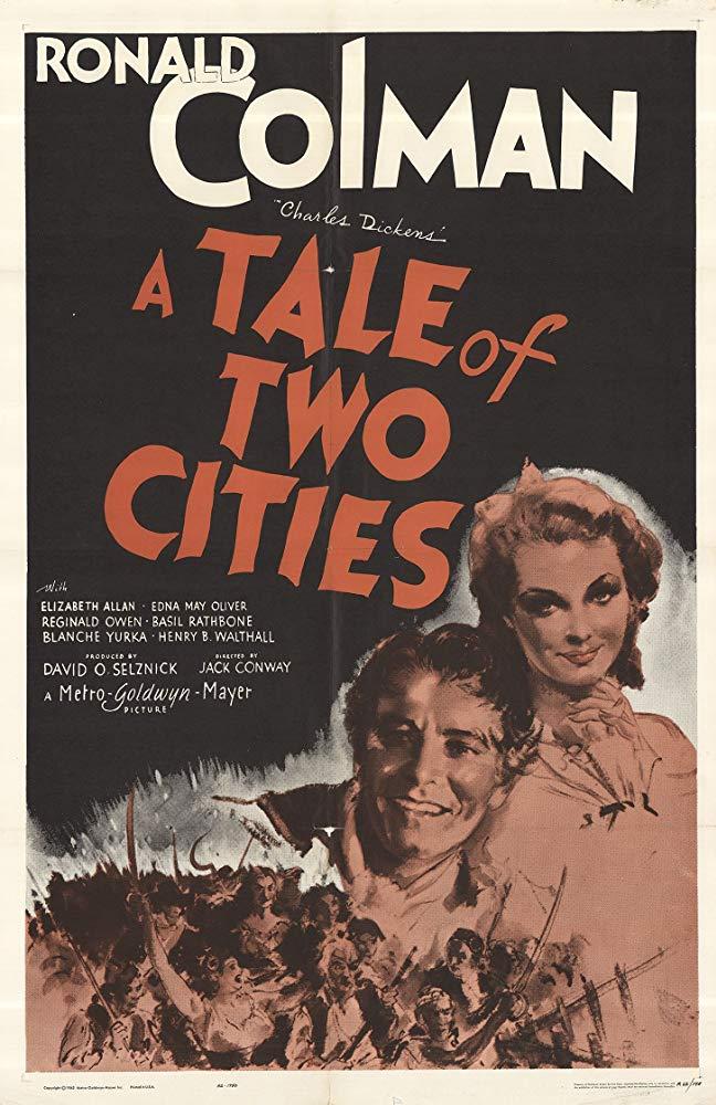 w cieniu gilotyny A Tale of Two Cities