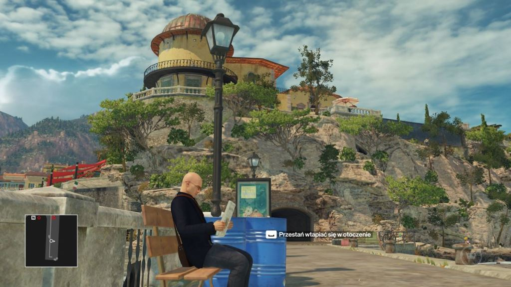 hitman screen