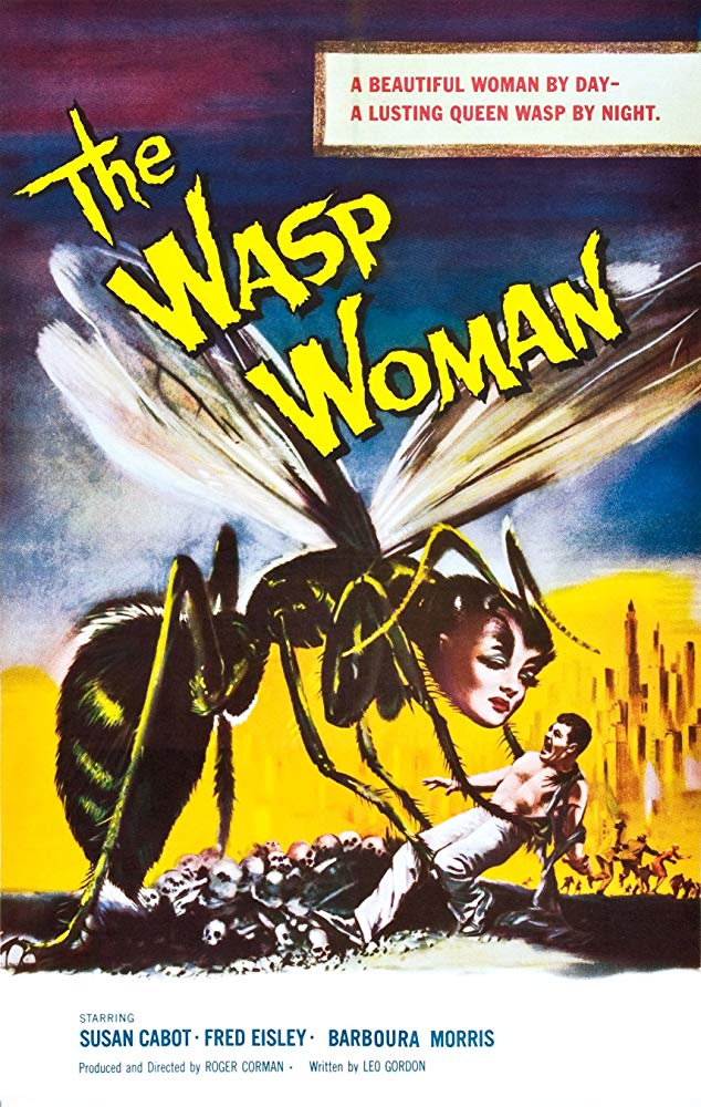 Wasp Woman kobieta owad horror
