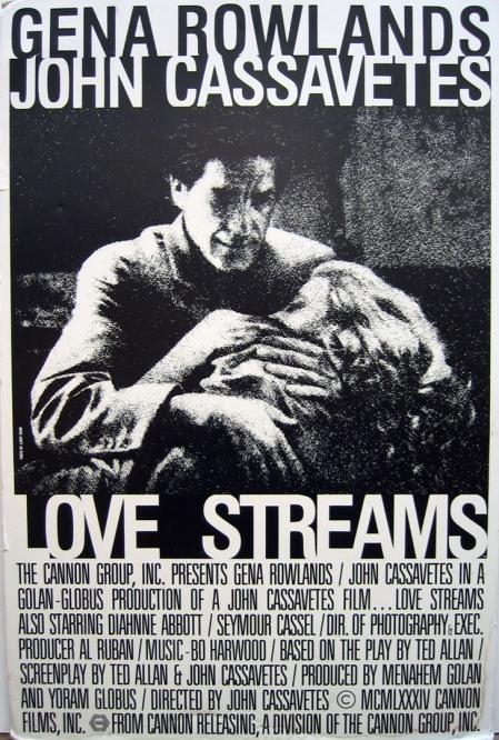 John Cassavetes love streams strumien milosci