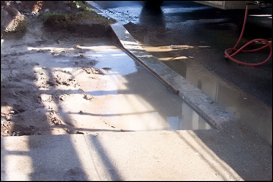 how to cut a curb for a driveway