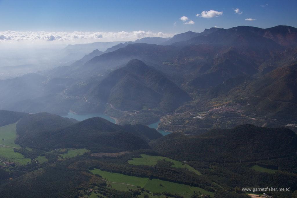 Flight Spain Pre Pyrenees