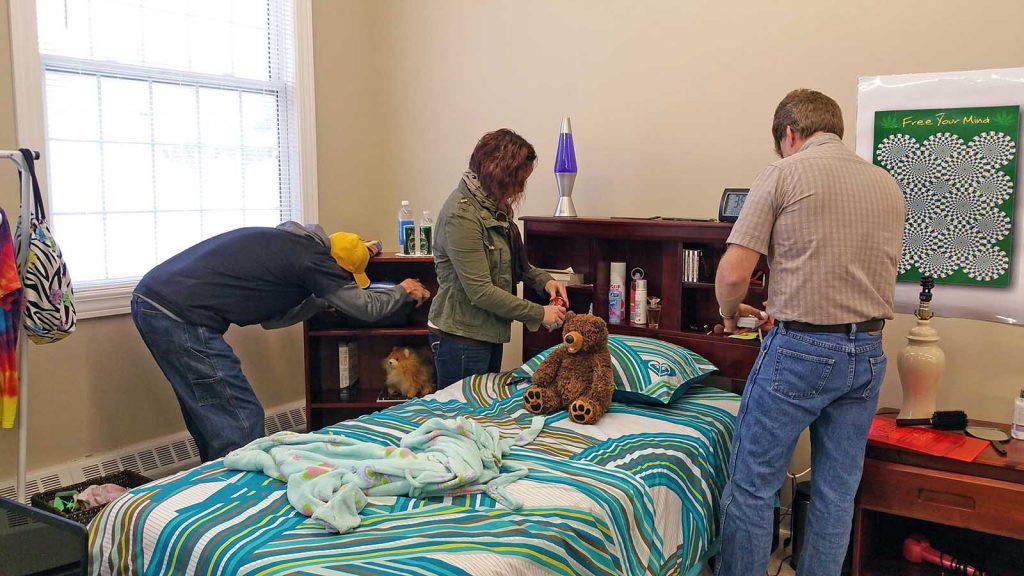 Mock Teen Bedroom  Garrett County Health Department