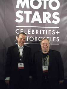 Diners Host and Producer Garrison with Mark Mederski at MotoStars