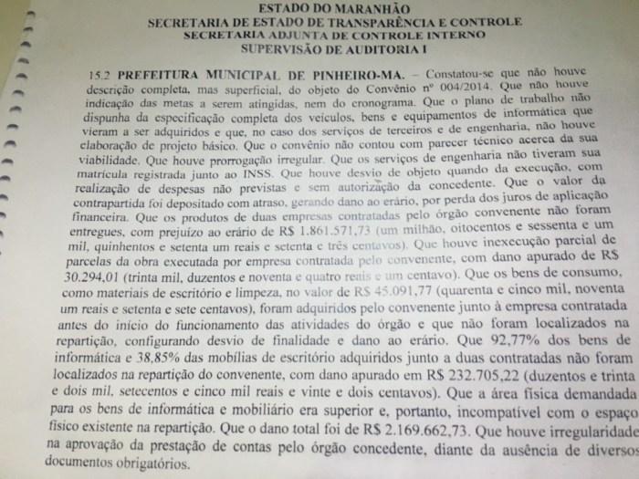 auditoria Pinheiro