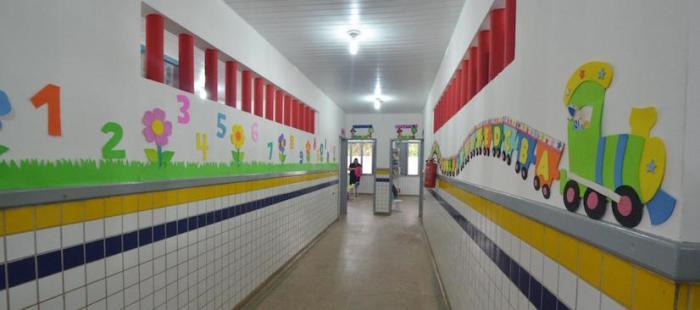 Reforma na EUE Santa Clara Infantil