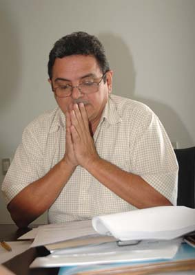 Filiuca Mendes terá que mudar o vice do PT depois que a direção nacional do partido determinou contra coligação com o PMDB, partido do prefeito
