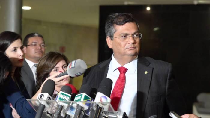 O governador Flávio Dino teve mensagem censurada pela TV Mirante
