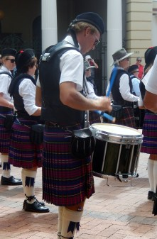 Massed Pipe Bands Kettle Drum Armidale March 2014