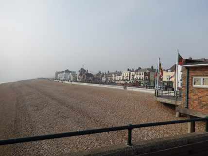 Deal Seafront - The tide is well out