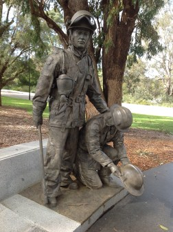 Firefighter's Memorial Kings Park Botanic Gardens May 2016