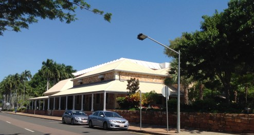 The former courthouse of Darwin, now the administrators' office May 2016