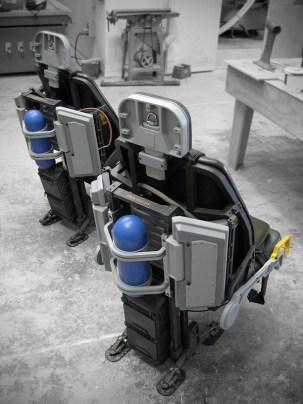 Hero pilot chairs for the SA-2 Samson helicopter
