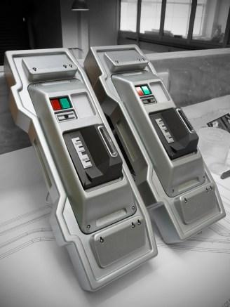 Swipe locks for the command centre airlock doors