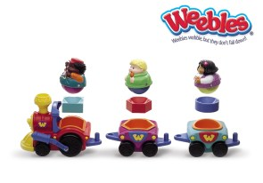 Weebles 'Rock and Roll' Shape sorter train [Seven Towns Ltd]