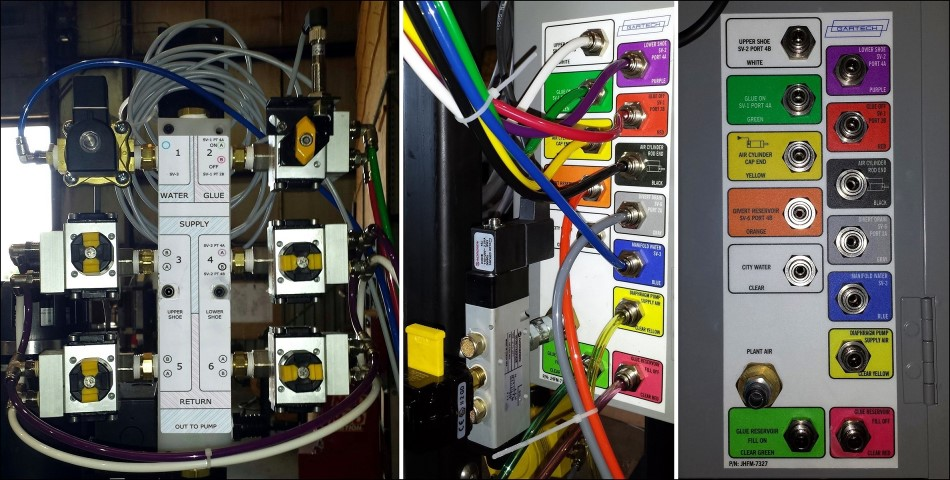 Upgrade to a color-coded system for easier maintenance.
